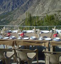 Eagles nest Duikar Restaurant